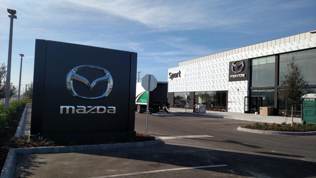 Sport Mazda front