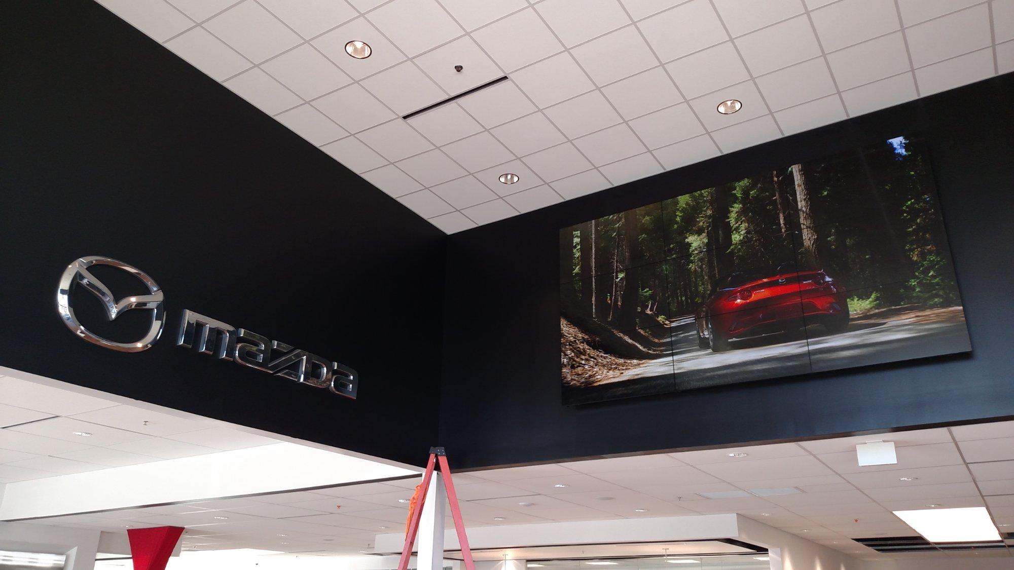 Sport Mazda Interior