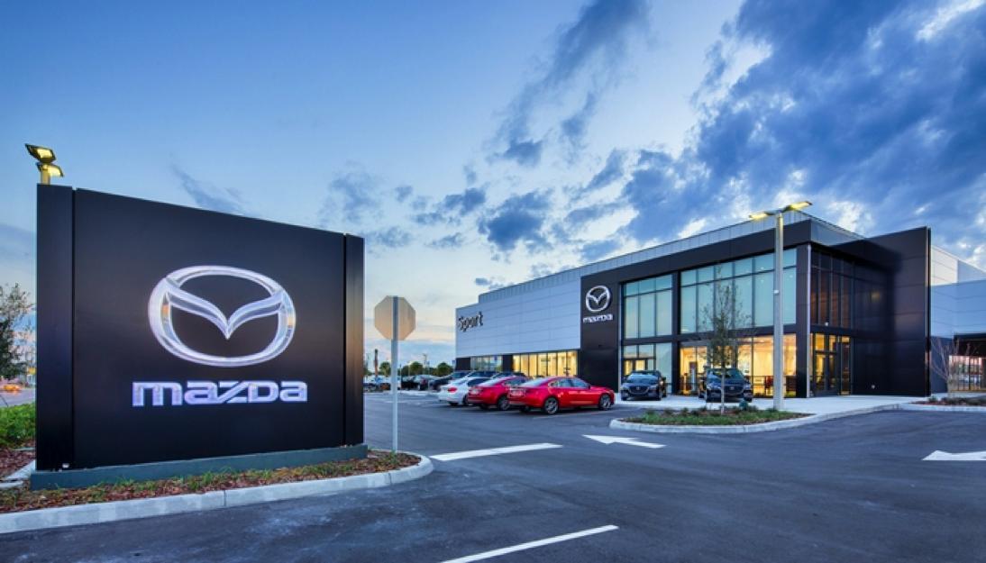 Sport Mazda Entrance